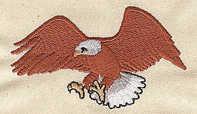 Embroidery Design: Eagle 2.88w X 1.69h