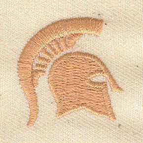 Embroidery Design: Trojan helmet 1.06w X 1.13h