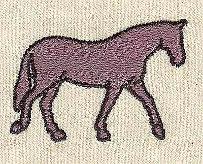 Embroidery Design: Horse 2.06w X 1.44h