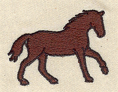 Embroidery Design: Horse 1.94w X 1.44h