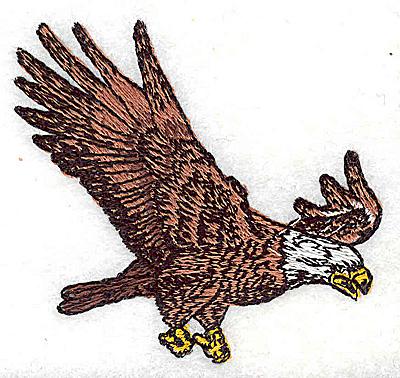 Embroidery Design: Eagle 2.63w X 2.44h