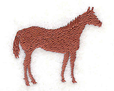 Embroidery Design: Horse 1.50w X 1.31h