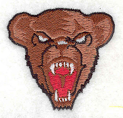 Embroidery Design: Bear head 1.94w X 1.81h