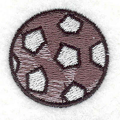 Embroidery Design: Soccer ball 1.25w X 1.25h