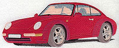 Embroidery Design: Sports Car 7.69w X 3.00h