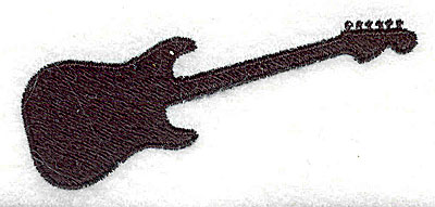 Embroidery Design: Guitar 3.06w X 1.31h