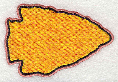 Embroidery Design: Arrowhead 3.38w X 2.31h