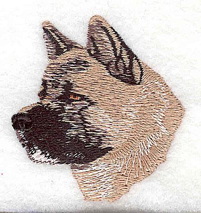 Embroidery Design: Bull Mastiff 2.00w X 2.13h