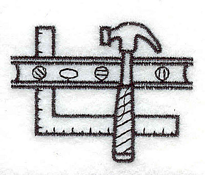 Embroidery Design: Building tools 2.13w X 1.63h