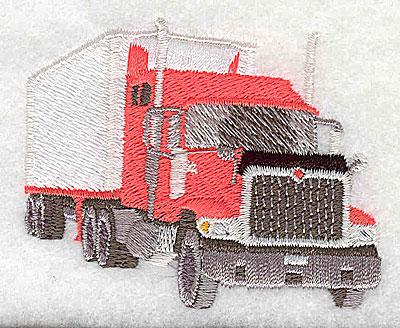 Embroidery Design: Truck 2.56w X 2.06h