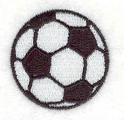 Embroidery Design: Soccer Ball 1.44w X 1.44h