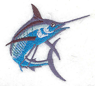 Embroidery Design: Marlin large 2.31w X 2.13h
