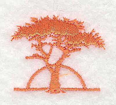 Embroidery Design: Tree  1.25w X 1.06h
