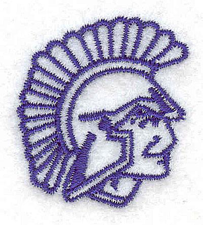 Embroidery Design: Trojan 1.31w X 1.44h