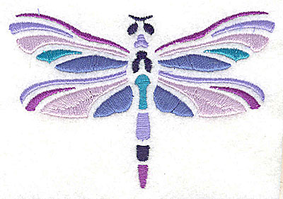 Embroidery Design: Dragonfly3.81w x 2.63h
