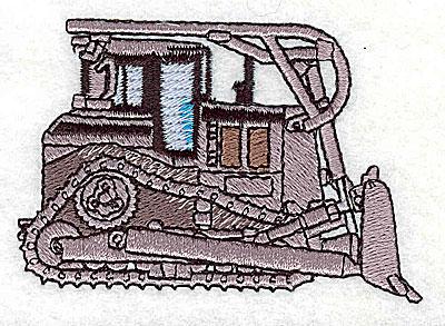Embroidery Design: Tractor capterpillar 2.94w X 2.00h