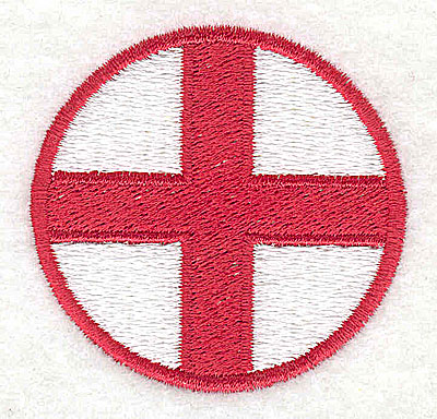 Embroidery Design: St. George flag 2.13w X 2.00h
