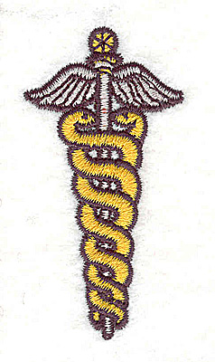 Embroidery Design: Medical Staff 1.19w X 2.31h