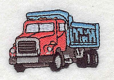 Embroidery Design: Dump Truck 1.75w X 1.19h