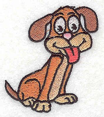 Embroidery Design: Dog Cartoon2.19W X 2.06H