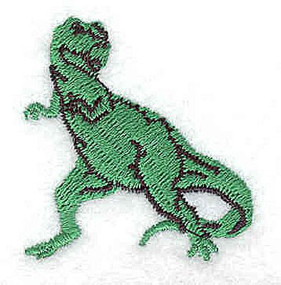 Embroidery Design: T-Rex1.56W x 1.44H