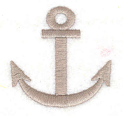 Embroidery Design: Anchor2.00W x 1.94H