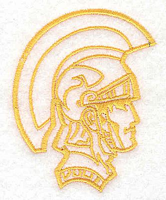 Embroidery Design: Trojan Soldier2.81W x 2.19H