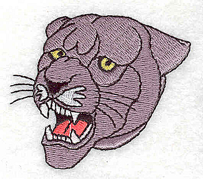 Embroidery Design: Panther 2.31w X 2.00h