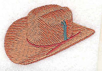 Embroidery Design: Cowboy hat 2.13w X 1.38h