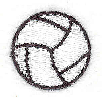 Embroidery Design: Soccer ball 1.13w X 1.13h