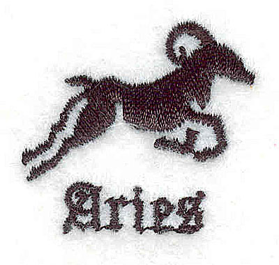 Embroidery Design: Aires 1.25w X 1.19h