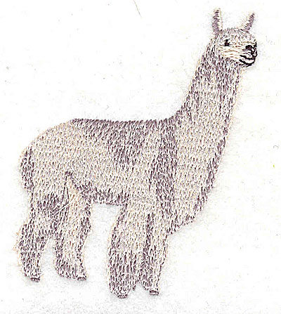 Embroidery Design: Llama 2.25w X 2.94h