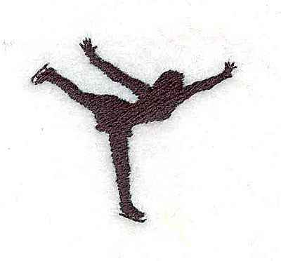 Embroidery Design: Figure skater 1.50w X 1.31h