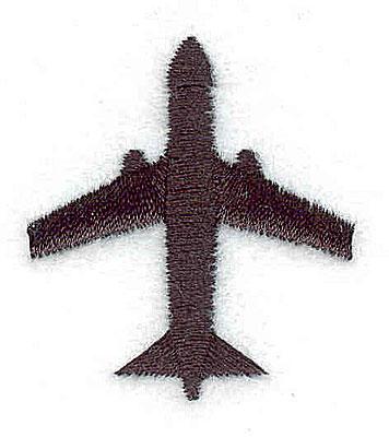 Embroidery Design: Jet 1.25w X 1.44h