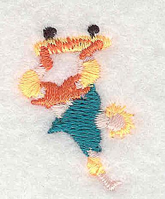 Embroidery Design: Skateboarder 0.88w X 1.25h