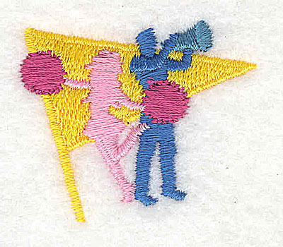 Embroidery Design: Cheerleaders 1.56w X 1.31h