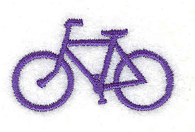 Embroidery Design: Bicycle 1.69w X 1.94h