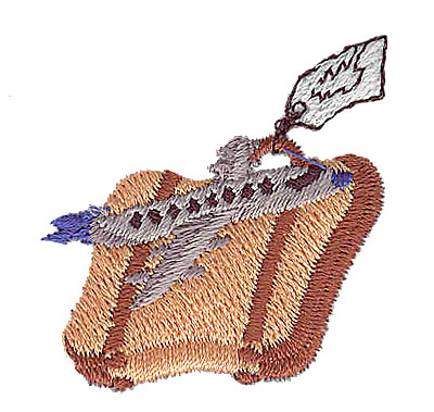 Embroidery Design: Suitcase and airplane 1.44w X 1.50h