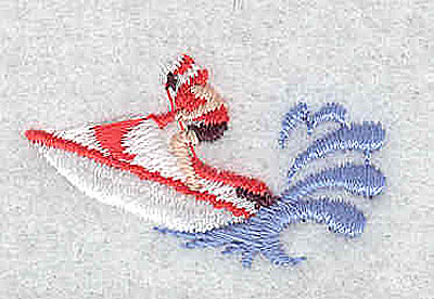 Embroidery Design: Jet Skier 1.50w X 0.88h