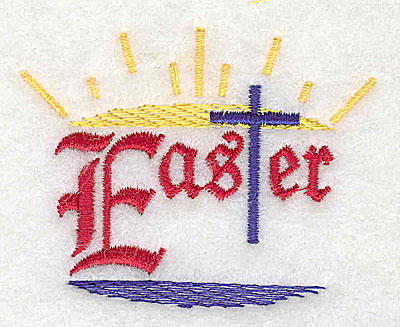 Embroidery Design: Easter  2.56w X 2.00h