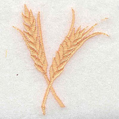 Embroidery Design: Wheat sheaf 1.88w X 2.50h