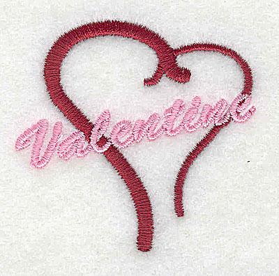 Embroidery Design: Valentine's 2.13w X 2.06h