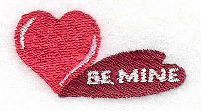 Embroidery Design: Be Mine 1.94w X 1.00h