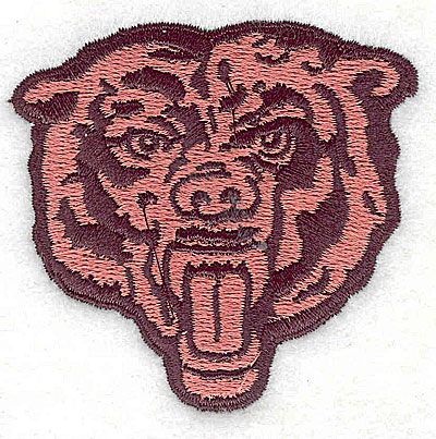 Embroidery Design: Bear head 2.56w X 2.44h
