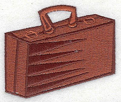 Embroidery Design: Luggage 2.81w X 2.50h