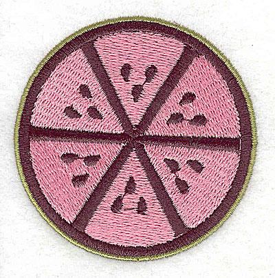Embroidery Design: Watermelon 2.44w X 2.50h