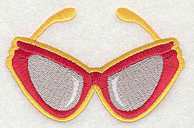 Embroidery Design: Sun glasses  3.44w X 2.25h