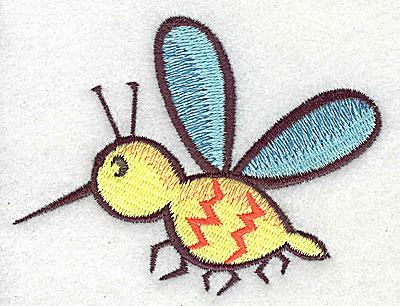 Embroidery Design: Mosquito 3.19w X 2.44h