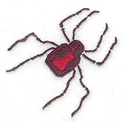 Embroidery Design: Spider 2.50w X 2.44h