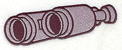 Embroidery Design: Binoculars 3.94w X 1.38h